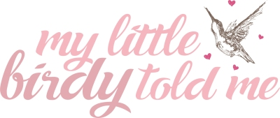 my little birdy blog logo